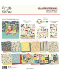 Summer Farmhouse Collector's Essential Kit - Simple Stories