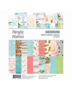 """Simple Vintage Coastal 6"""" x 8"""" Pad - Simple Stories"""
