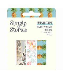 Simple Vintage Coastal Washi Tape - Simple Stories