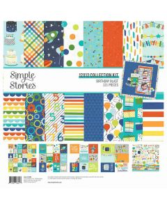 Birthday Blast Collection Kit - Simple Stories