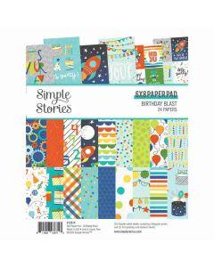 "Birthday Blast 6"" x 8"" Paper Pad - Simple Stories"