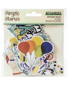 Birthday Blast Bits & Pieces - Simple Stories