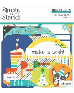 Birthday Blast Journal Bits & Pieces - Simple Stories
