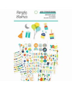 Birthday Blast Sticker Book - Simple Stories