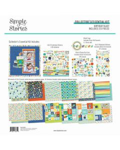 Birthday Blast Collector's Essential Kit - Simple Stories