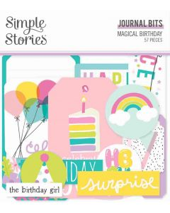 Magical Birthday Journal Bits & Pieces - Simple Stories