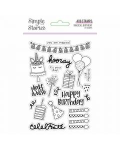 Magical Birthday Clear Stamps - Simple Stories