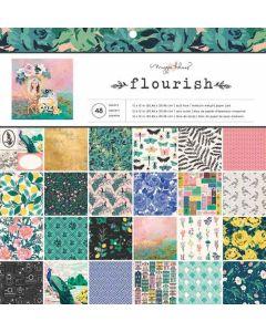 Flourish 12 x 12 cardstock stack