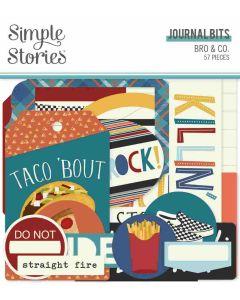 Bro & Co Journal Bits & Pieces - Simple Stories