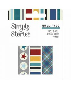 Bro & Co Washi Tape - Simple Stories