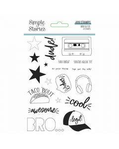 Bro & Co Clear Stamps - Simple Stories