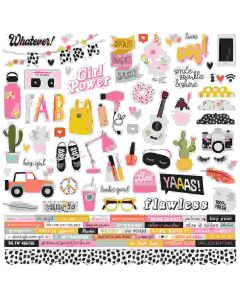 Kate & Ash Combo Stickers - Simple Stories