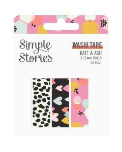 Kate & Ash Washi Tape - Simple Stories