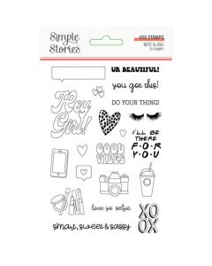 Kate & Ash Clear Stamps - Simple Stories