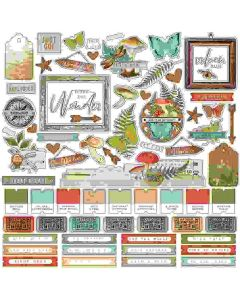 Simple Vintage Great Escape Combo Stickers - Simple Stories