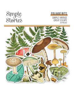 Foliage Bits & Pieces - Simple Vintage Great Escape - Simple Stories