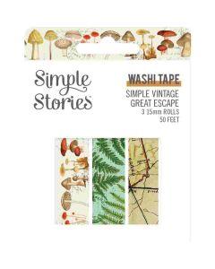 Simple Vintage Great Escape Washi Tape - Simple Stories