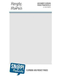 """4"""" x 6"""" Pack Refills for 4"""" x 6"""" SN@P! Flipbooks - Simple Stories*"""