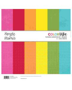 Brights Textured Cardstock Kit - Color Vibe - Simple Stories*