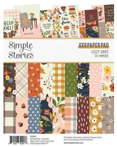 "Cozy Days 6"" x 8"" Paper Pad - Simple Stories"