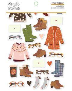Cozy Days Sticker Book - Simple Stories