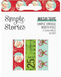 Simple Vintage North Pole Washi Tape - Simple Stories