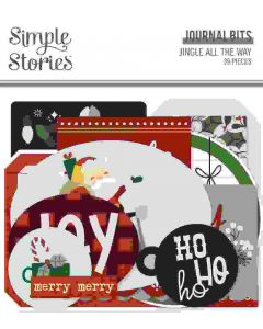 Jingle All the Way Journal Bits & Pieces - Simple Stories