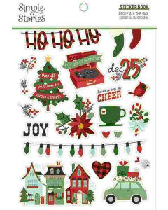Jingle All the Way Sticker Book - Simple Stories