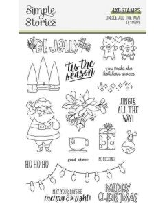 Jingle All the Way Stamps - Simple Stories