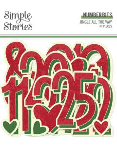 Jingle All the Way Number Bits - Simple Stories