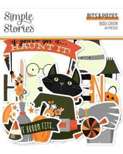 Boo Crew Bits & Pieces - Simple Stories