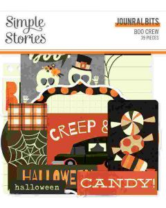 Boo Crew Journal Bits & Pieces - Simple Stories
