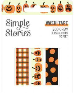 Boo Crew Washi Tape - Simple Stories