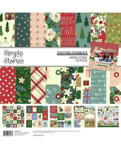 Winter Cottage Collection Kit - Simple Stories