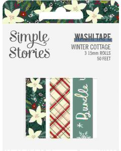 Winter Cottage Washi Tape - Simple Stories