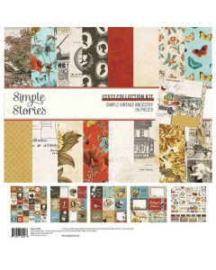 Simple Vintage Ancestry Collection Kit - Simple Stories*