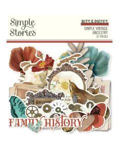 Simple Vintage Ancestry Bits & Pieces - Simple Stories*