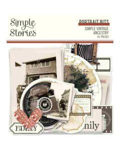Simple Vintage Ancestry Portrait Bits & Pieces - Simple Stories*