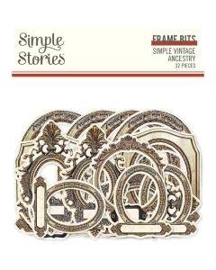 Simple Vintage Ancestry Frame Bits & Pieces - Simple Stories*