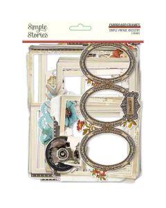 Simple Vintage Ancestry Chipboard Frames - Simple Stories*