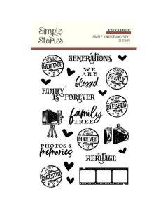 Simple Vintage Ancestry Stamps - Simple Stories*
