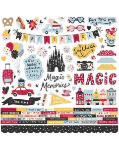 Say Cheese Main Street Cardstock Stickers - Simple Stories