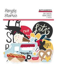 Say Cheese Main Street Bits & Pieces - Simple Stories*