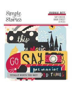 Say Cheese Main Street Journal Bits & Pieces - Simple Stories*