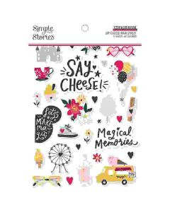 Say Cheese Main Street Sticker Book - Simple Stories*