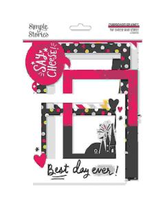 Say Cheese Main Street Chipboard Frames - Simple Stories*