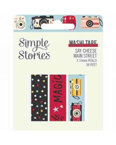 Say Cheese Main Street Washi Tape - Simple Stories
