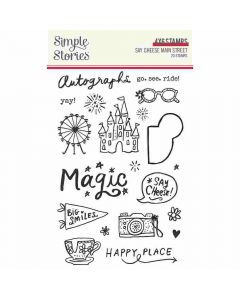 Say Cheese Main Street Stamps - Simple Stories*
