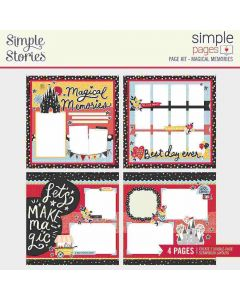 Magical Memories Simple Page Kit - Say Cheese Main Street - Simple Stories*
