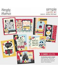 Magical Greetings Simple Card Kit - Say Cheese Main Street - Simple Stories*